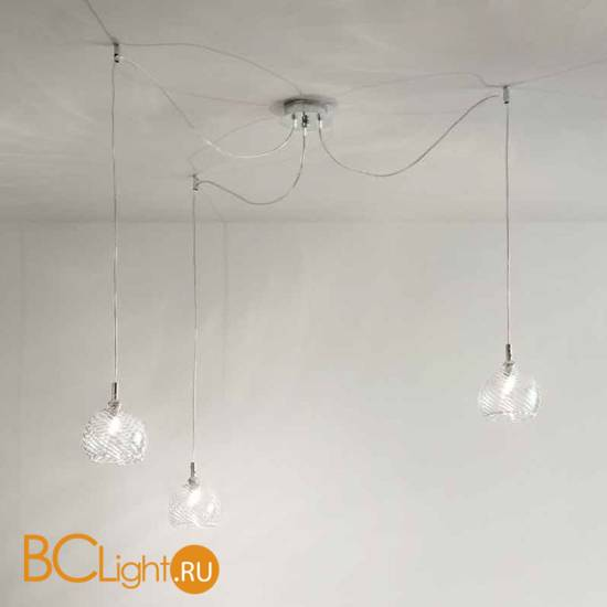 Подвесной светильник Renzo Del Ventisette Ohlala S14565/3 DEC. CROMO