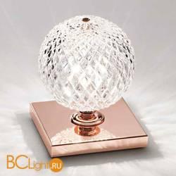 Настольная лампа Renzo Del Ventisette Ohlala LVP14534/1 DEC. ORO ROSA CRISTALLO TRASPARENTE