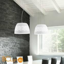 Подвесной светильник Renzo Del Ventisette Shine S 14368/40 Bianco