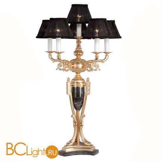 Настольная лампа Riperlamp Sobremesas 058R BO BLACK 5+1L