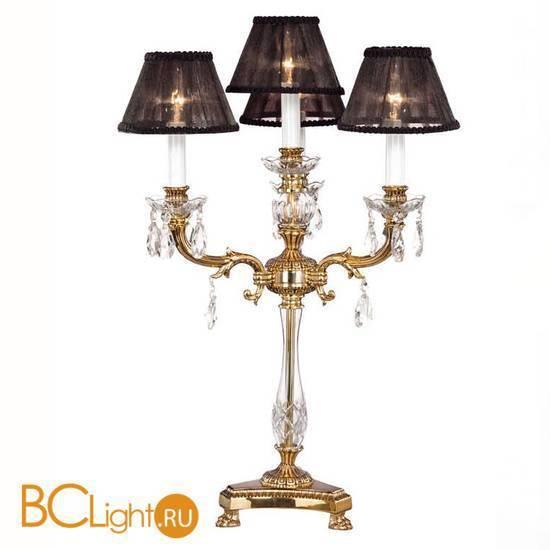 Настольная лампа Riperlamp Sobremesas 057R AB ASF BLACK