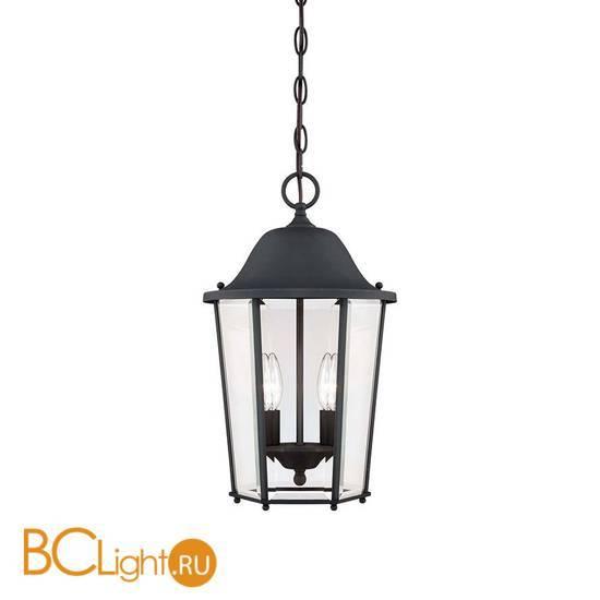 Уличный подвесной светильник Savoy House Truscott 5-6210-BK