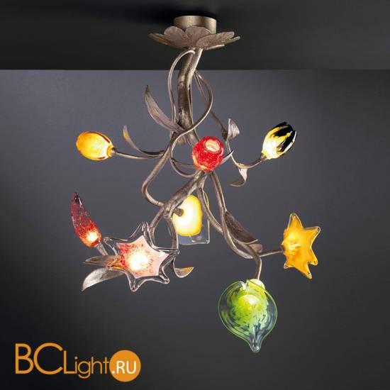 Потолочный светильник Serip Bouquet CT3200/8 FO_PB