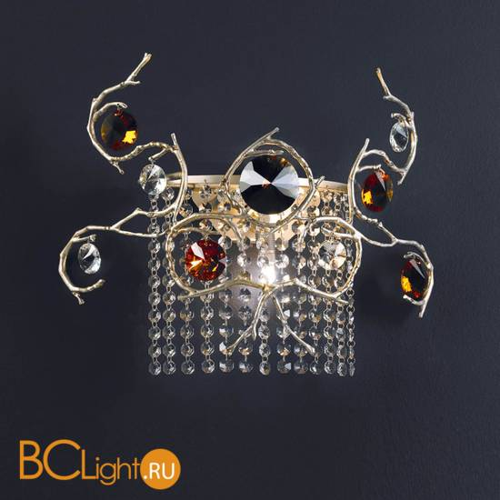 Настенный светильник Serip Diamond AP1411/2 FO_PB
