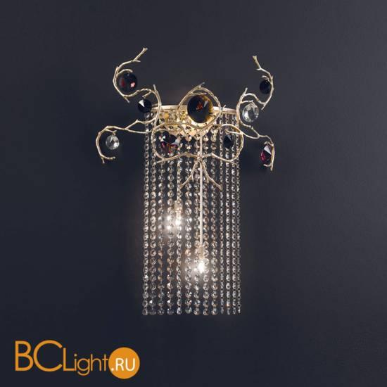 Настенный светильник Serip Diamond AP1411/3 FO_PB