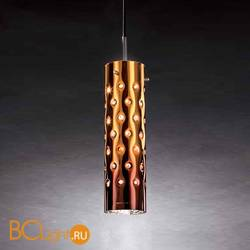 Подвесной светильник Slamp Dimple SUSPENSION SINGLE ORANGE DIM91SOS0000A_000