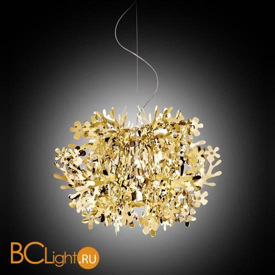 Подвесной светильник Slamp Fiorella SUSPENSION MINI GOLD FIO14SOS0002O_000