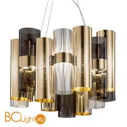 Подвесной светильник Slamp La lollo SUSPENSION M GOLD-FUME LAL87SOS0000OF000