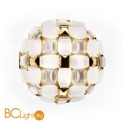 Потолочный светильник Slamp Mida CEILING WHITE/GOLD