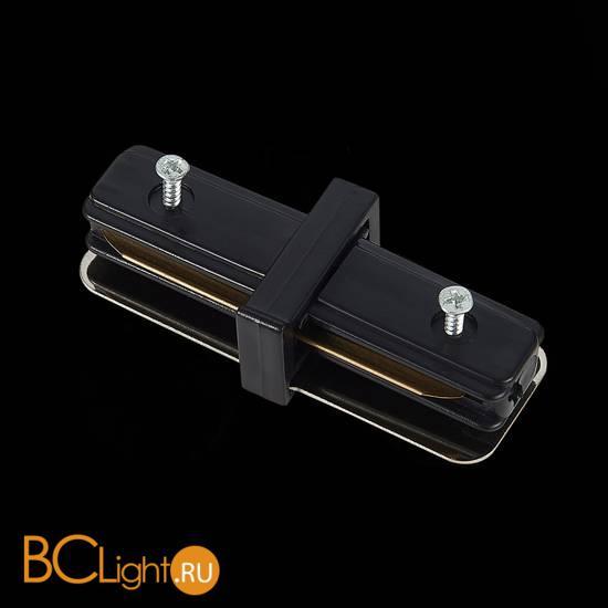 Коннектор шинопровода ST Luce ST002.419.00 1-фазный прямой черный