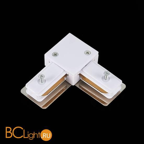 Угловой коннектор шинопровода ST Luce ST002.529.00 1-фазный белый