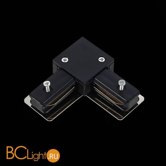 Угловой коннектор шинопровода ST Luce ST002.429.00 1-фазный черный