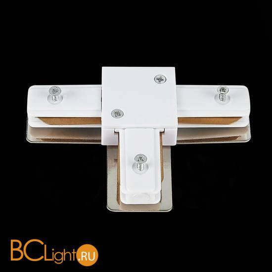 Т-образный коннектор шинопровода ST Luce Шинопровод ST002.539.00 1-фазный белый