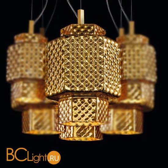 Подвесной светильник Sylcom Casa Blanca 0263 GOL + KIT 0262