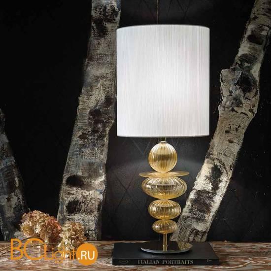 Настольная лампа Sylcom Igloo 2062 D ORO + TOP 2062 BIA