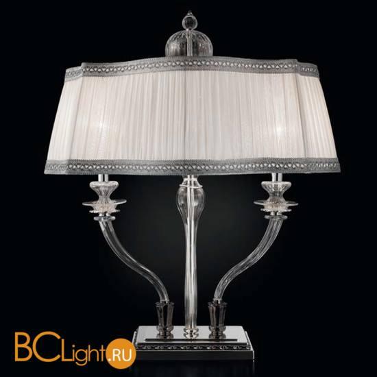 Настольная лампа Sylcom Impero 1653/L2 ARG CR + TOP 1653 ARG