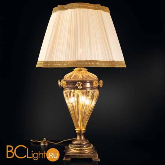 Настольная лампа Sylcom Impero 1669 BRU ORO + TOP 1669 ORO