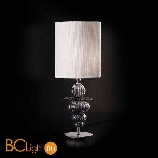 Настольная лампа Sylcom Scrigno 2061 K GRY + TOP 2061 BIA