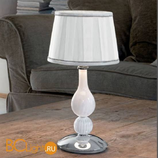 Настольная лампа Sylcom Scrigno 1422/20 K BL.CR + TOP 1422/20 ARG