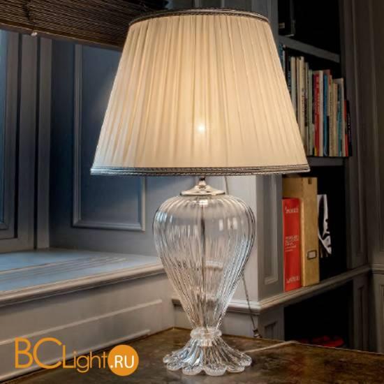 Настольная лампа Sylcom Scrigno 1462/52 K CR + TOP 1462/52 ARG
