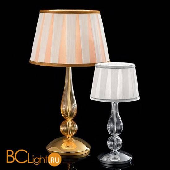 Настольная лампа Sylcom Scrigno 1422/20 K CR + TOP 1422/20 ARG