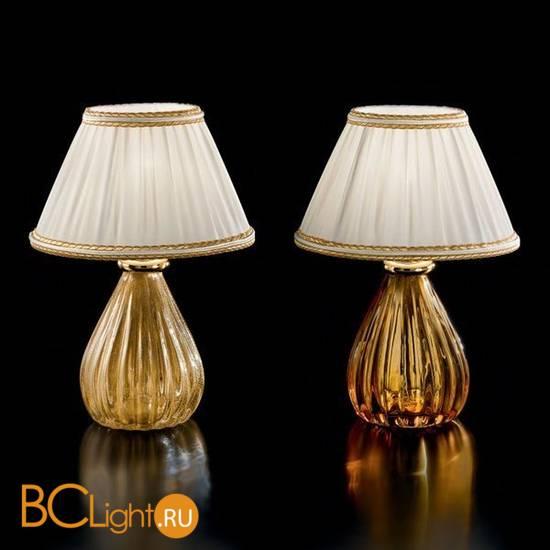 Настольная лампа Sylcom Scrigno 1395 K CR.ORO + TOP 1462/22 ORO