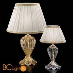 Настольная лампа Sylcom Scrigno 1462/22 D CR + TOP 1462/22 ORO