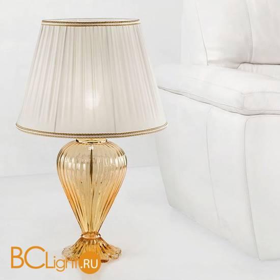 Настольная лампа Sylcom Scrigno 1462/52 D ORO + TOP 1462/35 ORO