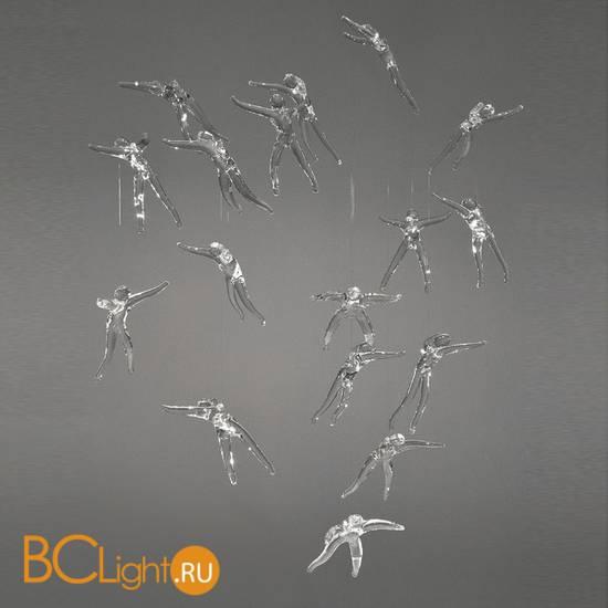 Потолочный светильник Terzani Angel Falls Q11S H4 A9 (18 angels)