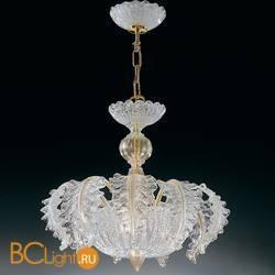 Люстра Vetri Lamp 1010/55 Cristallo/Oro