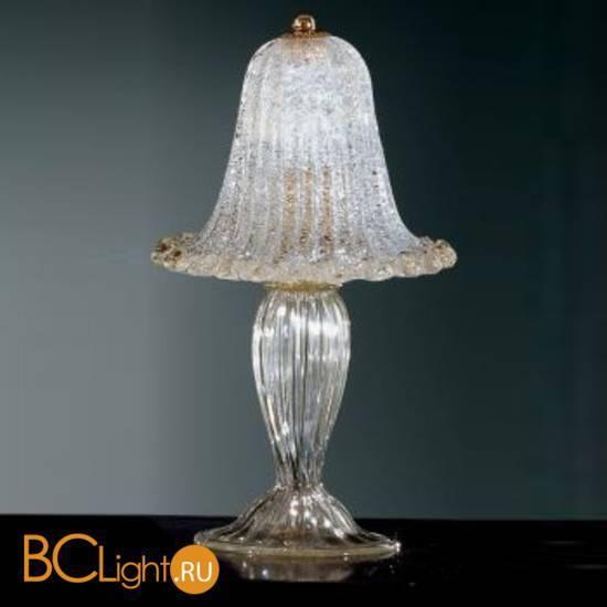 Настольная лампа Vetri Lamp 1010/L Cristallo/Oro
