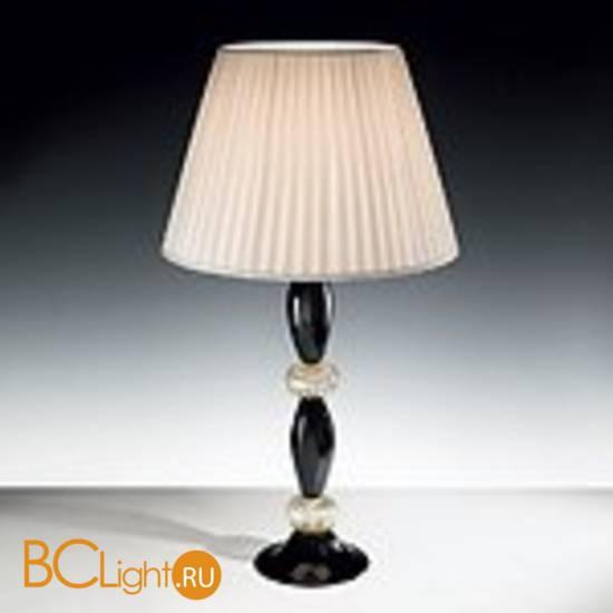 Настольная лампа Vetri Lamp 101 Black/Gold 24 Kt