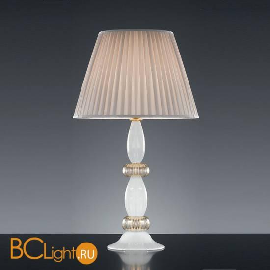 Настольная лампа Vetri Lamp 101 Bianco/Oro 24 Kt.
