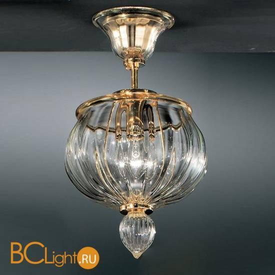 Потолочный светильник Vetri Lamp 1035/18 Cristallo/Ambra