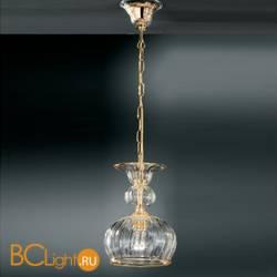Подвесной светильник Vetri Lamp 1033/18 Cristallo/Ambra