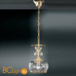 Подвесной светильник Vetri Lamp 1033/25 Cristallo/Ambra