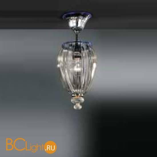 Подвесной светильник Vetri Lamp 1036/22 Cristallo/Blu