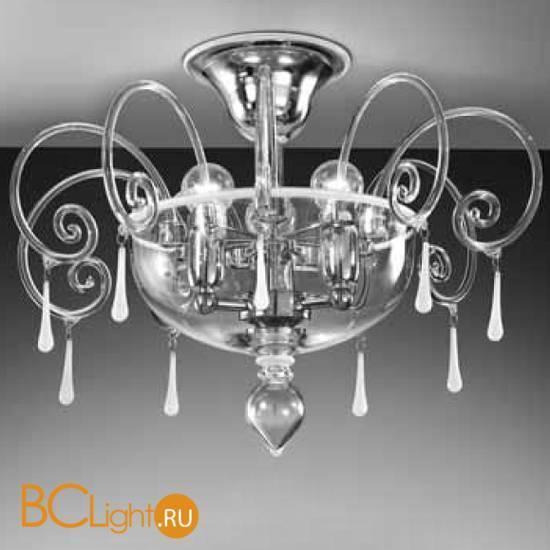 Потолочная люстра Vetri Lamp 1179/PL Cristallo Bianco
