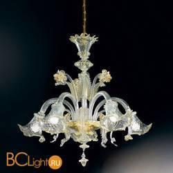 Люстра Vetri Lamp 87/5 Cristallo/Oro 24Kt
