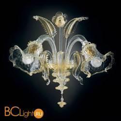 Бра Vetri Lamp 87/A2 Cristallo/Oro 24Kt