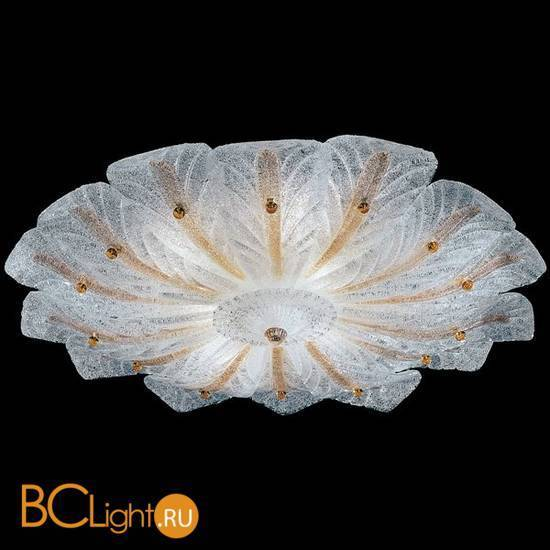 Потолочный светильник Vetri Lamp 958/90 Cristallo/ Filo Ambra