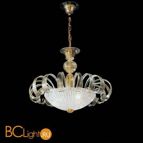 Подвесной светильник Vetri Lamp 997/65 Cristallo/Oro