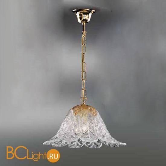 Подвесной светильник Vetri Lamp 1133/S Cristallo/Ambra