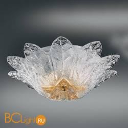 Потолочный светильник Vetri Lamp 1133/40 Cristallo/Ambra