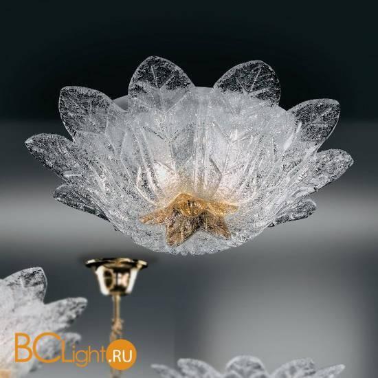 Потолочный светильник Vetri Lamp 1133/50 Cristallo/Ambra