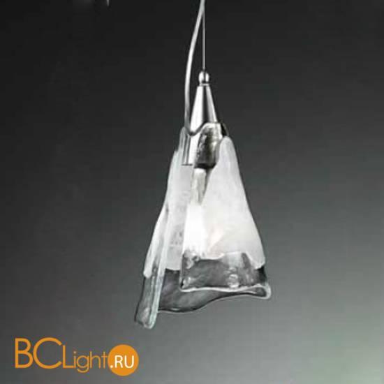 Подвесной светильник Vetri Lamp 1134/26 Bianco/Cristallo