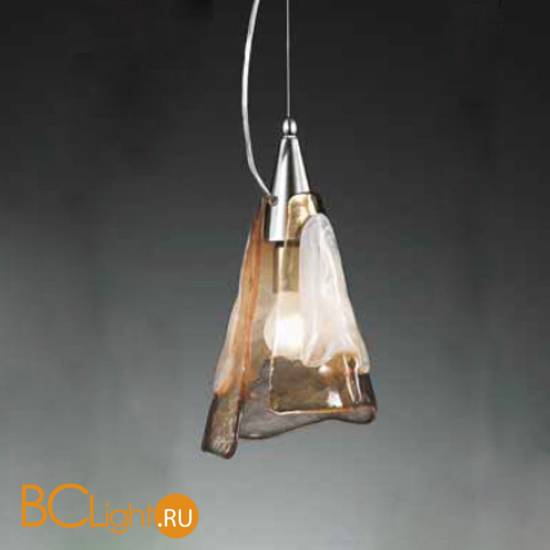Подвесной светильник Vetri Lamp 1134/20 Bianco/Ambra