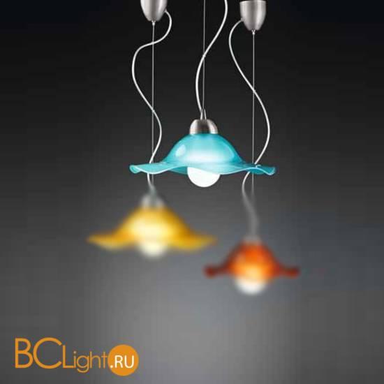 Подвесной светильник Vetri Lamp 1135/38 Azzurro