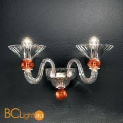 Бра Vetri Lamp 1153/A2 Cristallo/Rosso
