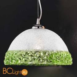 Подвесной светильник Vetri Lamp 1158/32 Cristallo/Verde